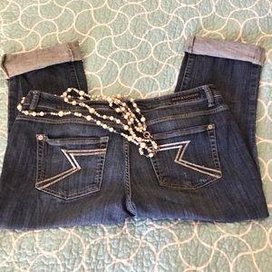 Rock & Republic women capri denim jeans Sz.16